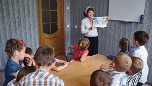 Sunday school in Ukraine