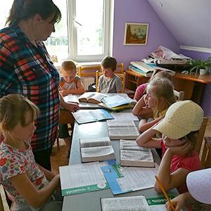 Summer Camp Teaching