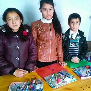 1906 Sga Articles Uzbekistan School Supplies Article Secondary B