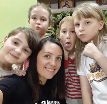 Children across the Krasnoyarsk Region of Russia participate in SGA-sponsored Orphans Reborn programs.