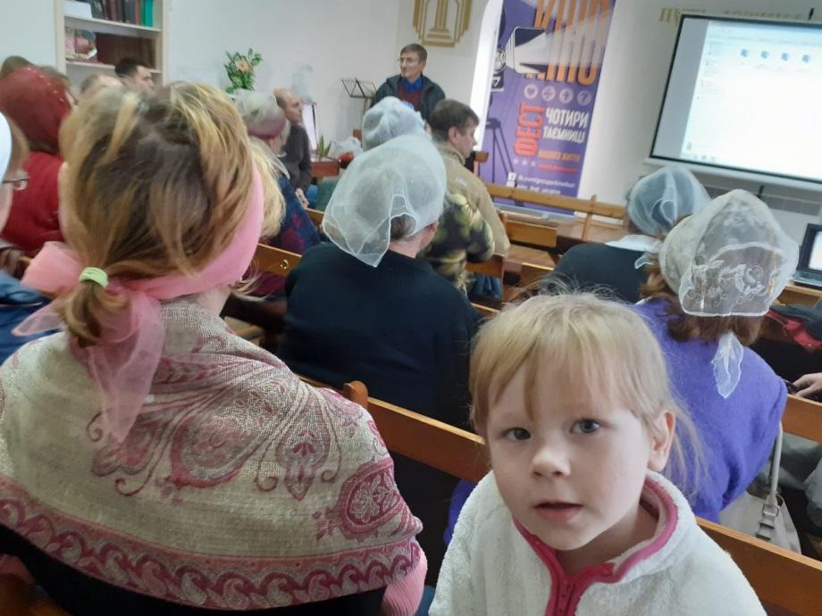 Natalia Filipova (40 years old) and her daughter Stanislava (4 years old).