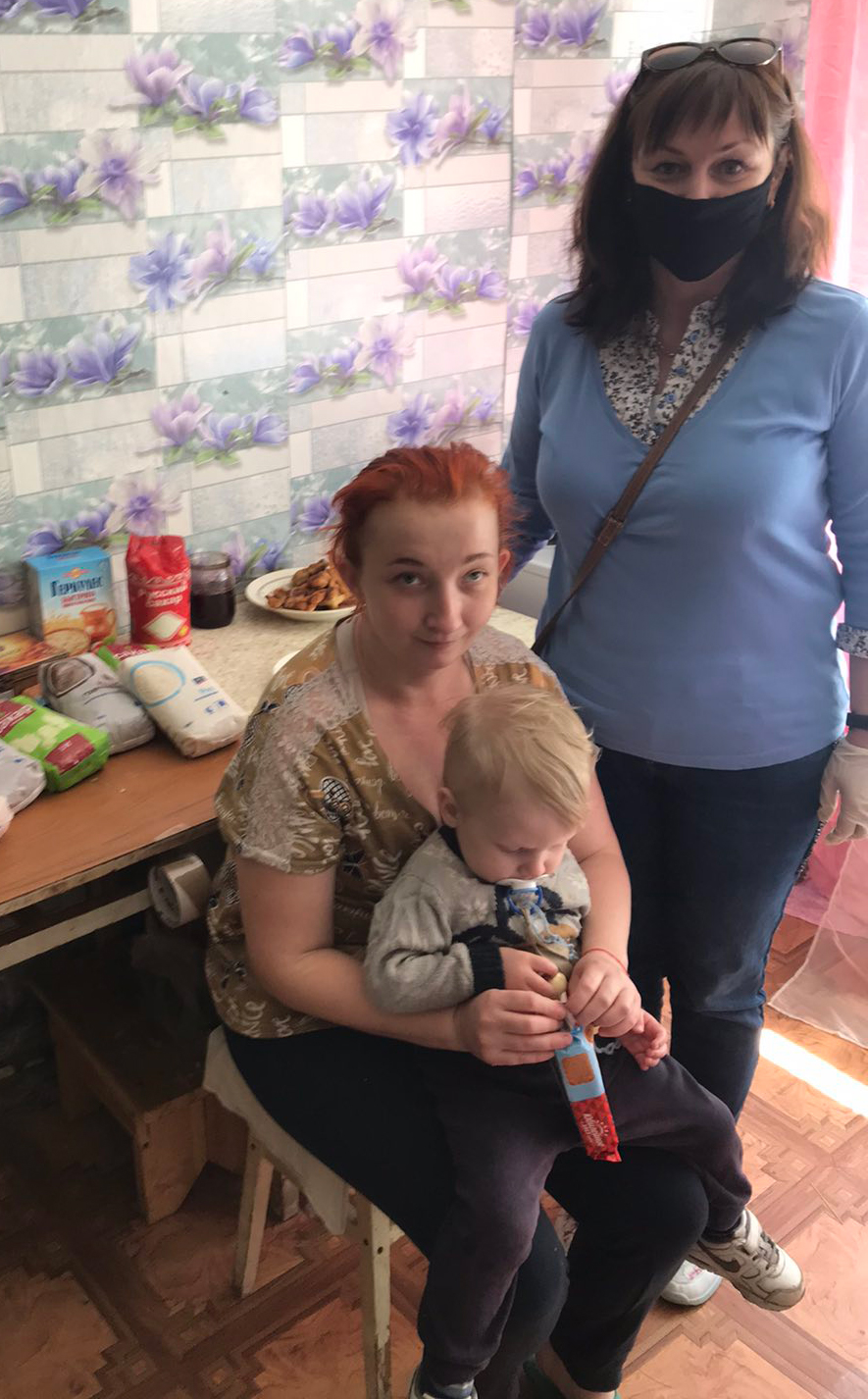 Marianna and her son Miron