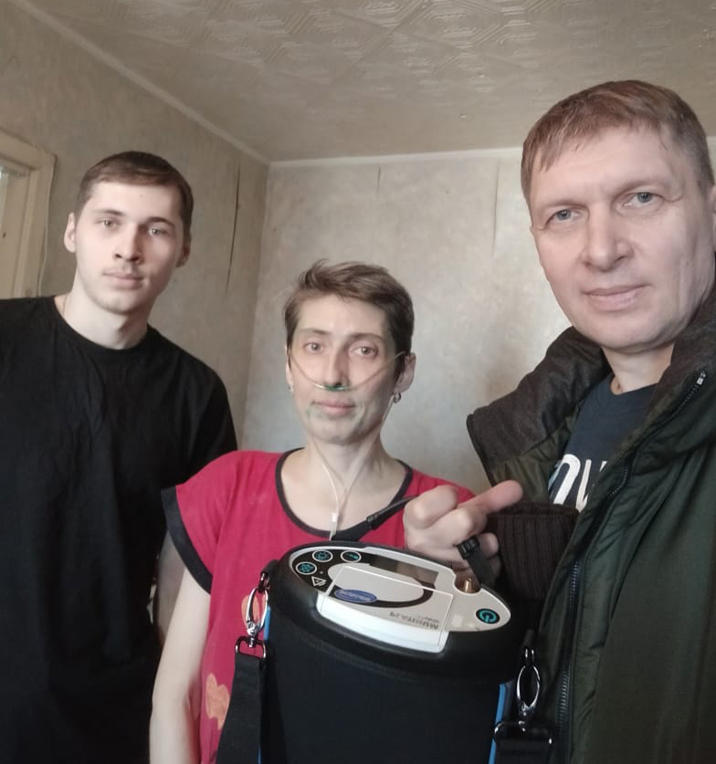 Vyacheslav, Ludmila, and Daniel
