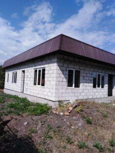 Construction on the Usman church.