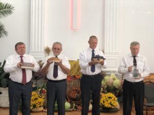 Harvest Day service.