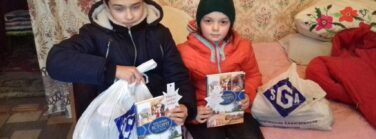 In regions where group celebrations were not able to be held due to the pandemic, believers visited children in their homes to deliver stars and gifts.