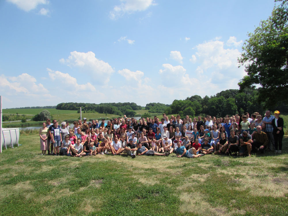 160 people participated in the summer camp on the bank of the Seversky-Donets River.
